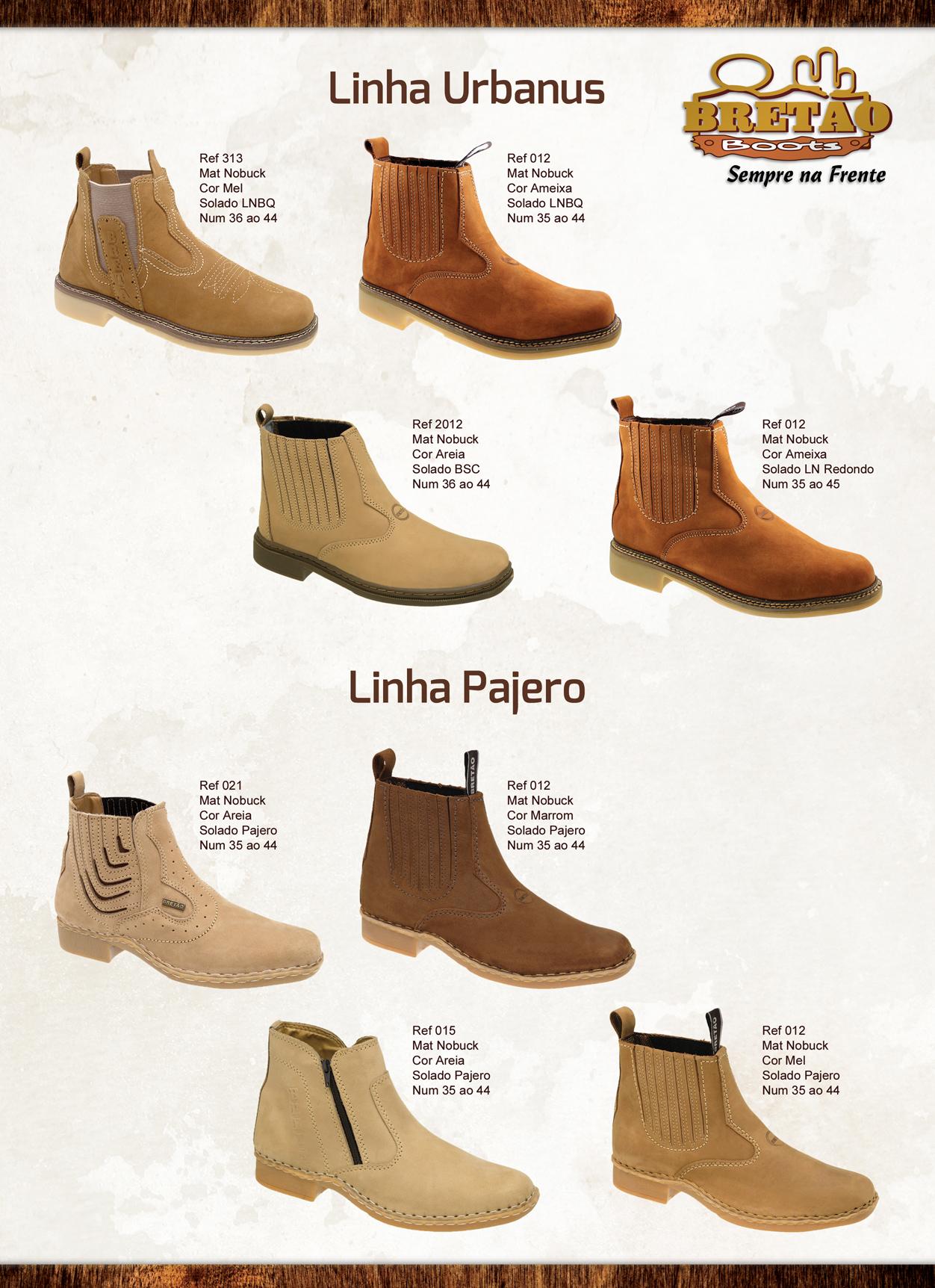 Bretão Boots - Catálogo de Produtos 2015 be045a2e76